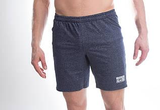 Мужские шорты с надписью Converse синего цвета