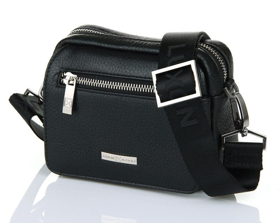 Небольшая горизонтальная сумка Luxon 89037-2 Black