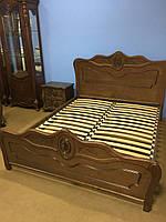 Классическая кровать из натурального дерева Classic, фото 1