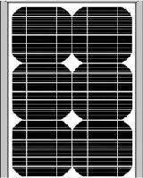 Solar board 20W 18V