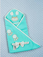Конверт- одеяло на выписку Мишутка