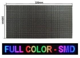 Дисплей светодиодный P5 RGB полноцвет уличный SMD (outdoor) 32x16