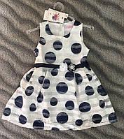 Платье для девочек 4-12 лет