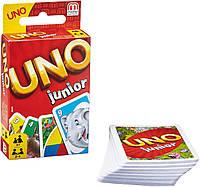 Карты Уно для наймолодших Uno. Junior. Mattel