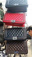 Сумка , Клатч  Шанель Chanel Le Boy 27см Брендовые сумки