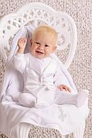 Комплект для крещения для мальчика (комбинезон)