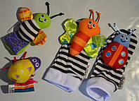 Носочки с погремушками