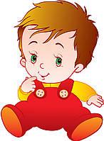 """Наклейка на авто """"Малыш"""" мальчик"""