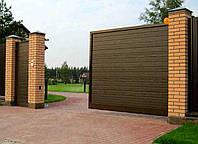 Сдвижные ворота из сэндвич-панелей Doorhan 2,8 м * 2 м