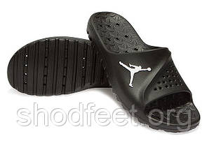 Мужские шлепанцы Jordan Super Fly Team Slide Sandals Black (45p 29cm)