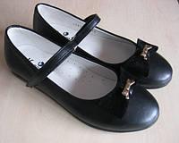 Кожаные туфли-лодочки Калория р 33-38