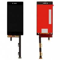 Дисплей (LCD) Lenovo Z90-7 Vibe Shot/ Vibe Max с сенсором черный