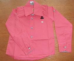 Рубашка для мальчика  Розовый