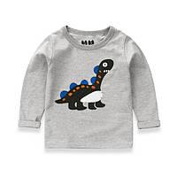 Реглан с динозавром. 100