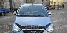 Дефлектор Форд Фокус С-Мах с 2007 (мухобойка на капот Ford Focus C-Max)