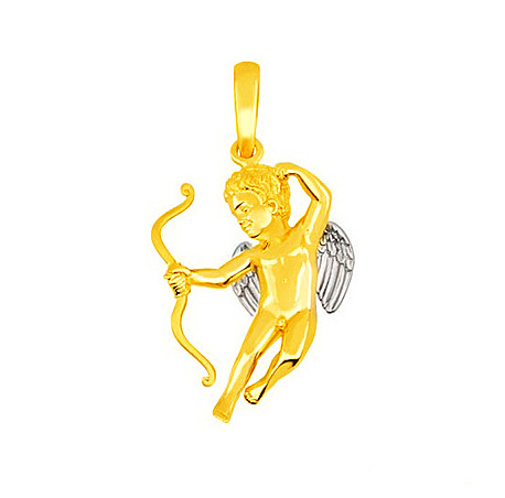 Золотой подвес Ангел
