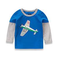 Реглан детский с самолетом.