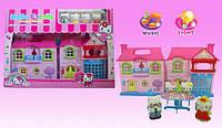 """Кукольный дом """"Hello Kitty"""" с куклами и мебелью"""