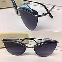 Солнцезащитные очки синие Marc Jacobs