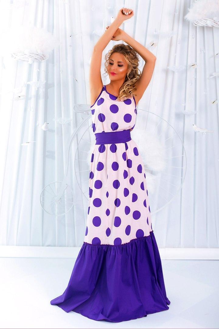 5db61fff0b1 Стильное платье в пол