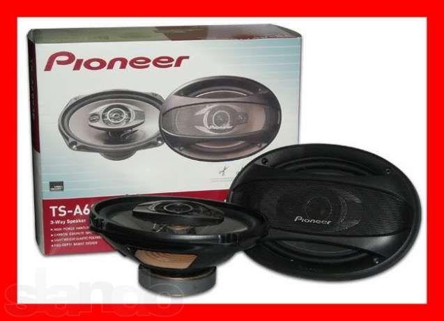 Pioneer TS-A6984S (600W) трех полосные! Цена за пару
