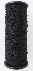 Нить  капроновая черная ( Текс-187/50 м )  обувная
