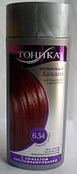 Тоника оттеночный бальзам для волос 6.54 Красное Дерево