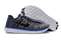 Мужские кроссовки Nike Free Run Motion Flyknit Grey