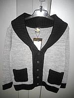 Классический трикотажный пиджак