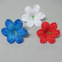 Гибискус цветок искусственный Цена за уп - 100 шт.