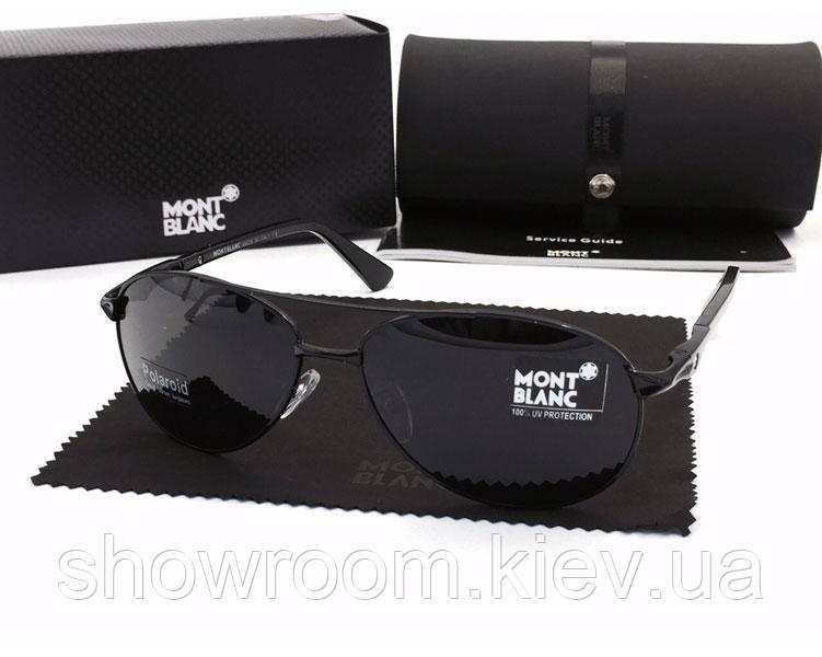 Солнцезащитные очки в стиле Montblanc (2956) black