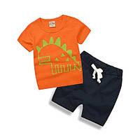 Футболка и шорты для мальчика.