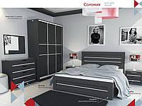 Кровать двухспальная Соломия 160х200 С подъёмным механизмом Газ-Лифт, Венге