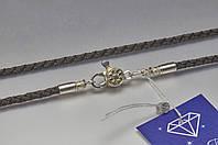 Шелковый шнурок с авторской застёжкой