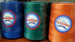 Нитка швейная полиэстер №50  20/2  MAXIMA