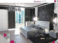 Кровать двухспальная Соломия 160х200 С подъёмным механизмом Газ-Лифт, Белый