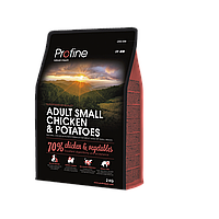 Profine Adult Small Chicken & Potatoes корм для собак малых пород, курица с картофелем, 2 кг