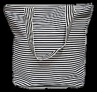 Женская пляжная сумка полоска WUU-200104, фото 1
