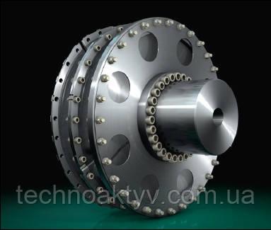 CENTAX-G Типоразмеры CX-GFS1 и GSS1 Высокоэластичные, универсально-компенсирующие муфты для сво- бодностоящих приводов. Для соединения маховика дизельного двига- теля и вала или соединения вал/вал. Области применения: генераторы, насосы, редукторы, главных и вспомогательных судовых силовых установок, вращающие моменты от 5 до 160 кНм.