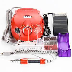 Профессиональный фрезер Pro ZS-601 на 60 Вт и 35 000 об./мин. (red)