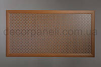"""Решетка (экран) для батарей """"Классик"""", цвет лесной орех, из ХДФ и МДФ 68 см х 128 см х 1,8 см"""