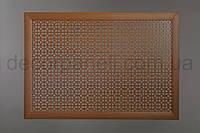 """Решетка (экран) для батарей """"Классик"""", цвет лесной орех, из ХДФ и МДФ 68 см х 98 см х 1,8 см"""