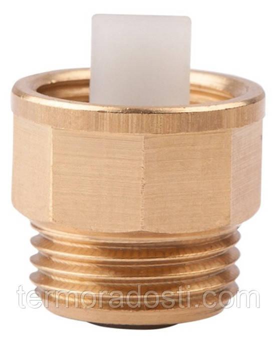 """Запорный клапан ICMA 3/8"""" для воздухоотводчика (арт. 710) отсекающий"""
