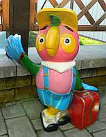 Садово-паркова фігура Папуга Кєша 60*55*35 см