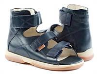 Босоножки детские. Ортопедическая обувь MEMO, модель HELIOS темно-синие (30-38), фото 1