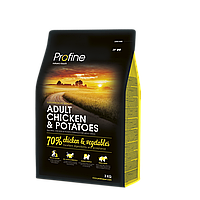 Profine Adult Chicken & Potatoes корм для собак, курица с картофелем, 3 кг