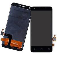 Дисплей для Alcatel One Touch 4027D PIXI 3(4.5)/5017D/5017X + touchscreen. чрный