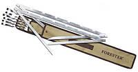 """Набор """"Мангал походный"""" Forester (BQ-R01NL) шампура(6шт) + стойки(2шт) + чехол"""