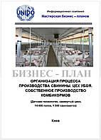 Бизнес – план (ТЭО). Свиноферма. Комплекс выращивания свиней. Датская технология. Цех убоя, пр-во комбикорма 14400 голов откорма