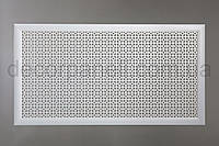 "Решетка (экран) для батарей ""Эфес"", цвет белый, из ХДФ и МДФ 68 см х 128 см х 1,8 см"
